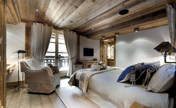 21 ideas bedroom country style - rustic charm of the house