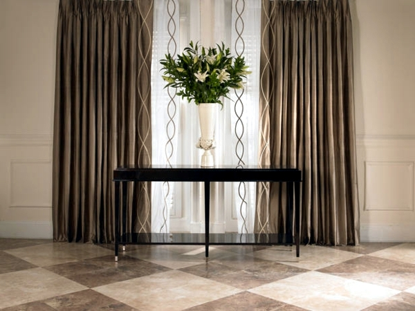 Curtains in the living room - Decorating ideas for each device