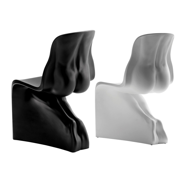 He and his designer Fabio Novembre chairs display the sensual elegance