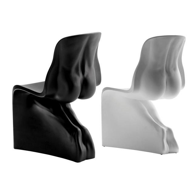 He and his designer Fabio Novembre chairs display the sensual elegance