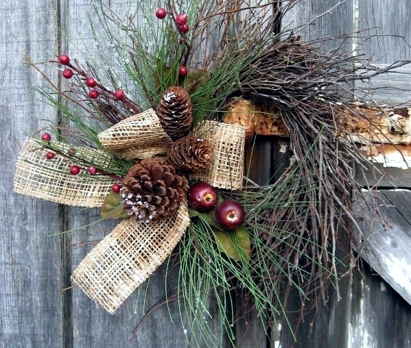 Winter Decorating With Natural Materials 20 Great Ideas