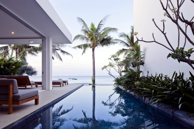 Luxury villas on the southern coast of Vietnam Oceanique