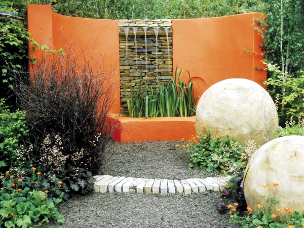 planning and design of garden - planting flowers, shrubs and trees
