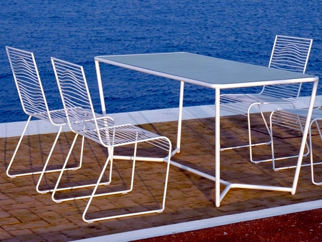55 ideas for garden furniture - Creating room and outdoor dining
