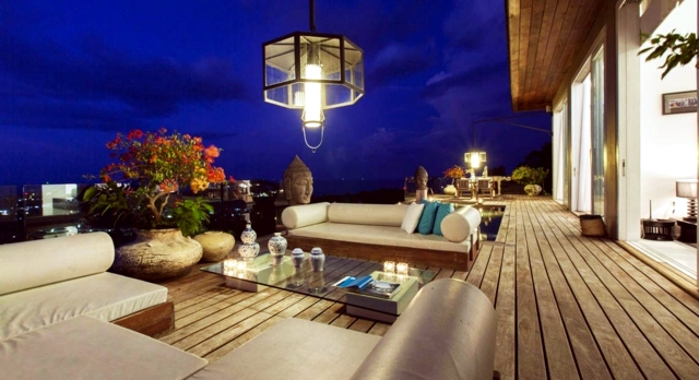Arrange a comfortable living room - 25 design ideas balcony