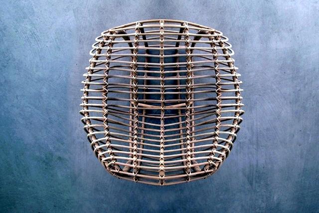 Rattan furniture design with a difference Hettler.Tüllmann