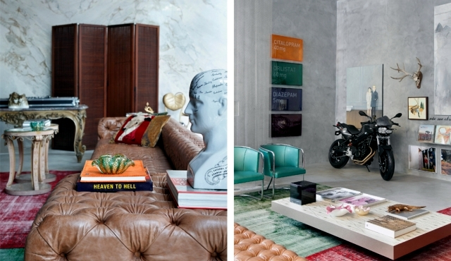 Eclecticism as a lifestyle trend interior design by Guilherme Torres
