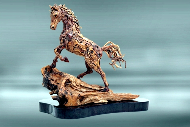 Amazing horse sculptures, life-size James Doran Webb
