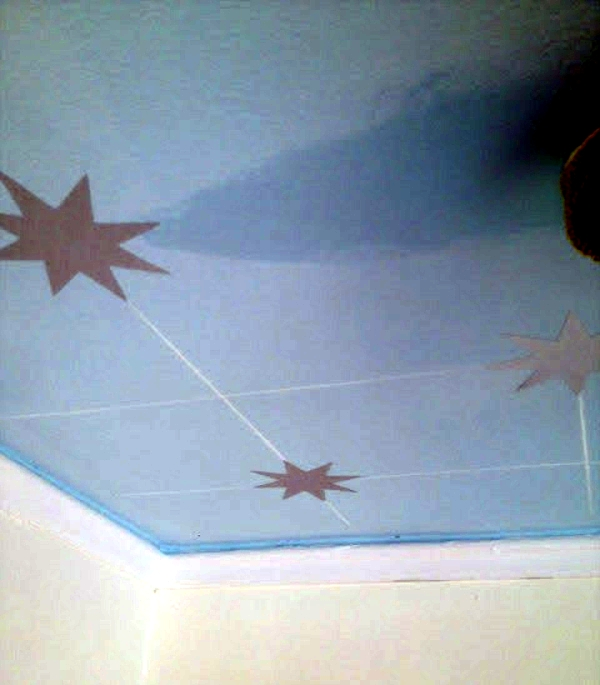 Beautiful baby nursery decorating ideas to make your own - starry sky