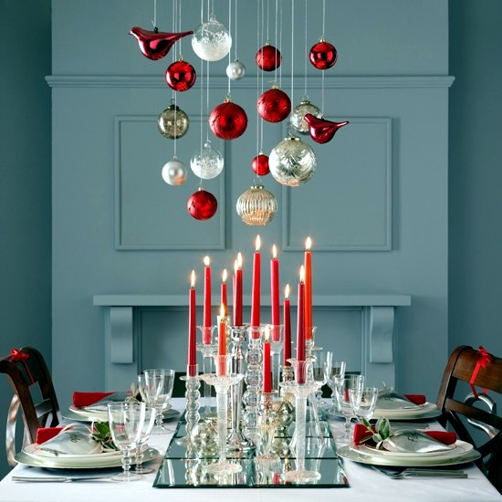 35 merry christmas decorating ideas for the christmas table - Merry Christmas Decorations