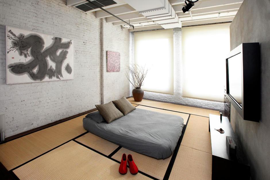 Room With Minimalist Japanese Influences Interior Design
