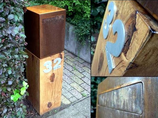 Mailbox Stainless Steel - 17 minimalist designs