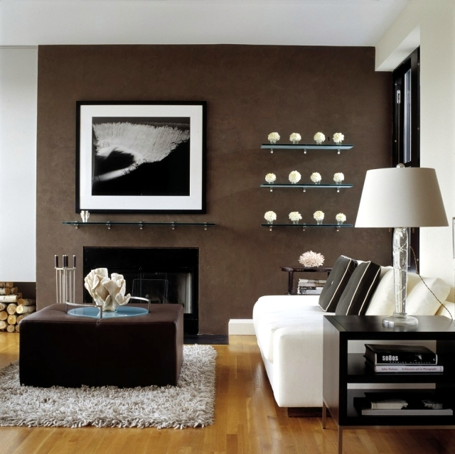 Living Room Interior Design Ideas Brown Is Modern
