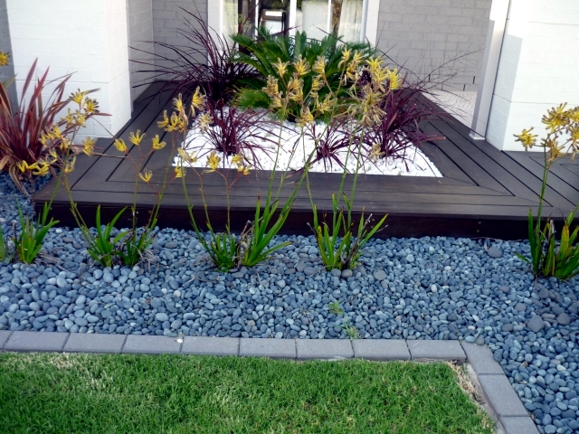 Garden Decorations Part - 47: Landscaping With Stone - 21 Ideas And Use In Garden Decorations