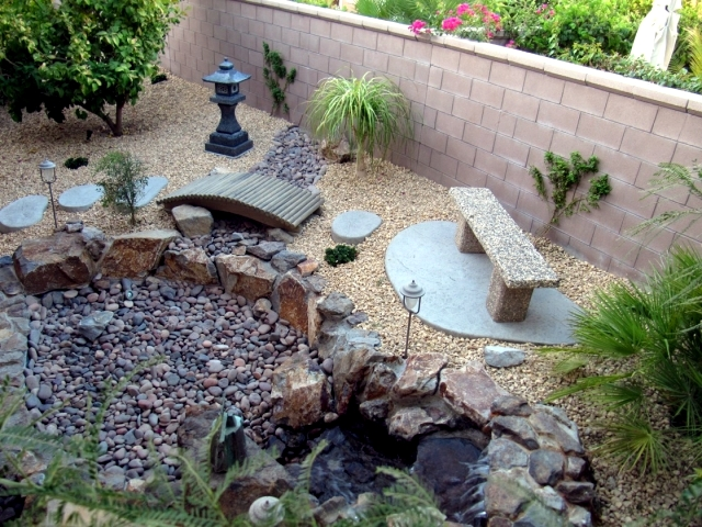 Landscaping Ideas Using Stone : Landscaping with stone ideas for garden decorations