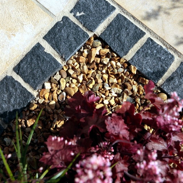 Landscaping with stone - 21 ideas and use in garden decorations