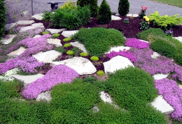 Landscaping with stone 21 ideas for garden decorations Interior