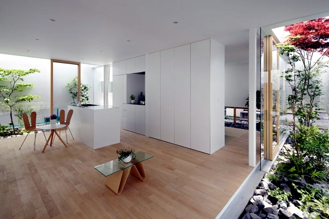 Design Ideas for saving space in modern living Japanese ...