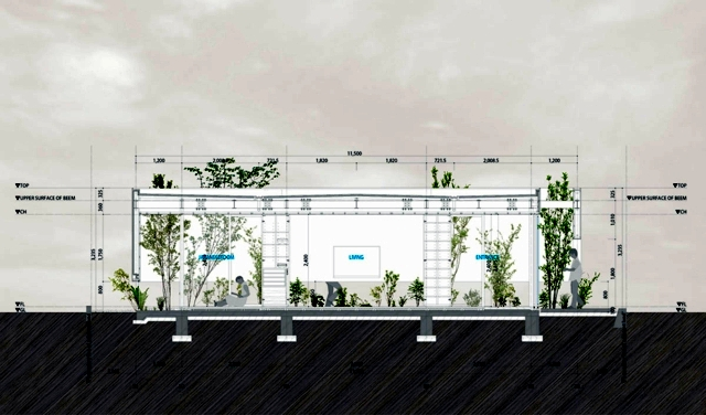 Design Ideas for saving space in modern living Japanese