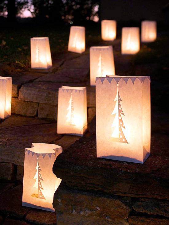 Tinker Beautiful christmas decoration with cheap materials