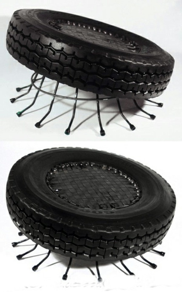 100 diy furniture from car tires tire recycling do it yourself diy coffee table rotation 100 diy furniture from car tires tire recycling solutioingenieria Images