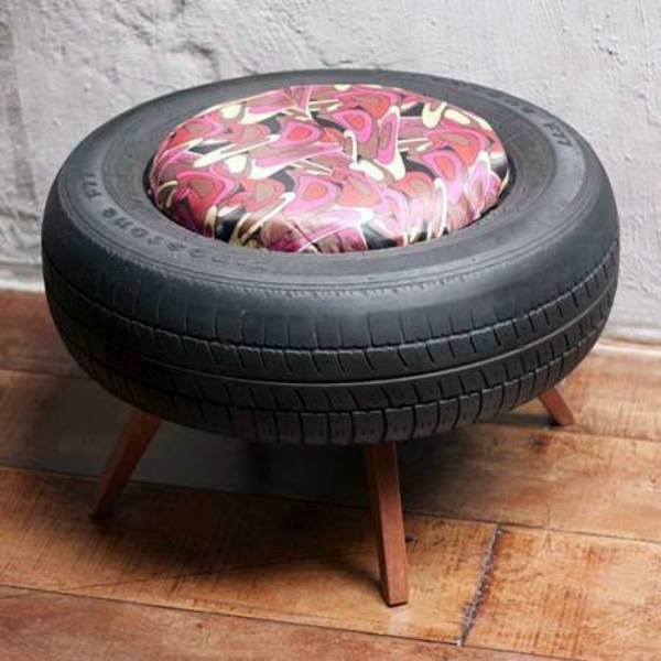 100 DIY Furniture From Car Tires Tire Recycling Do It Yourself Interior Design Ideas