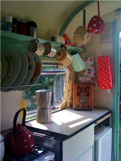 Caravan Decoration Create A Retro Touch Interior