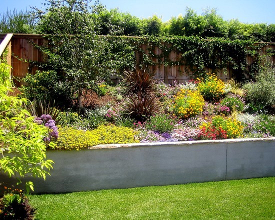 79 ideas to build a retaining garden wall – slope protection ...