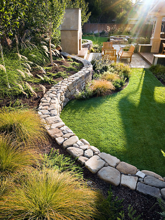 79 Ideas To Build A Retaining Garden Wall Slope