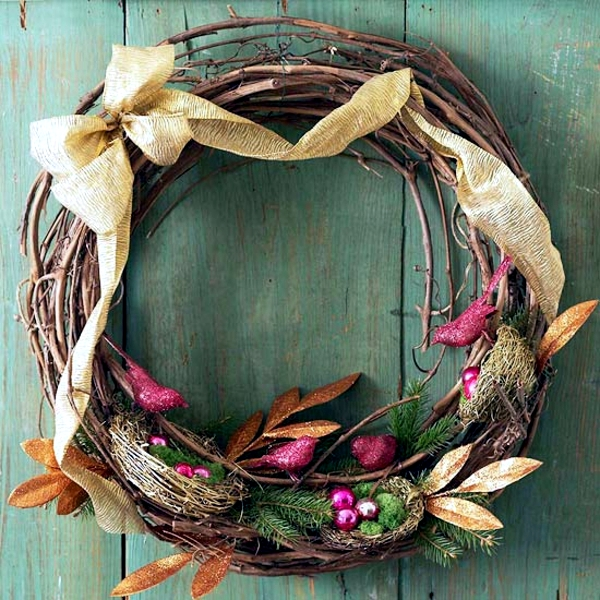 33 Ideas To Make Christmas Wreath For Yourself Interior