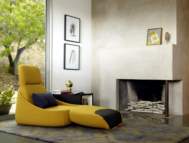 Hosu Longue chair design - comfortable to relax and work