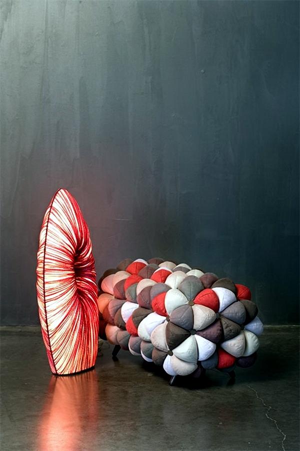 """Anana"" - seating furniture soft fabric Aqua Creations"