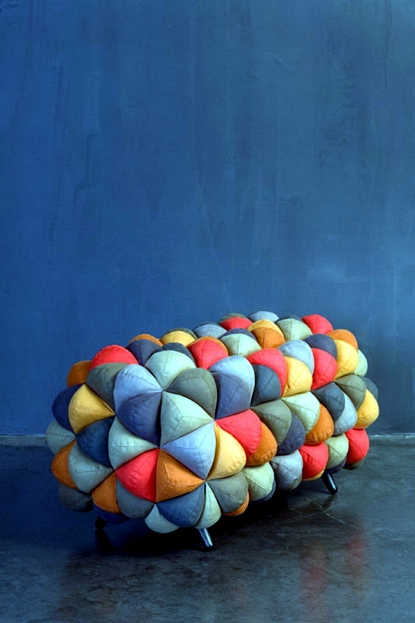 """Anana"" - seating furniture soft fabric Aqua Creations"
