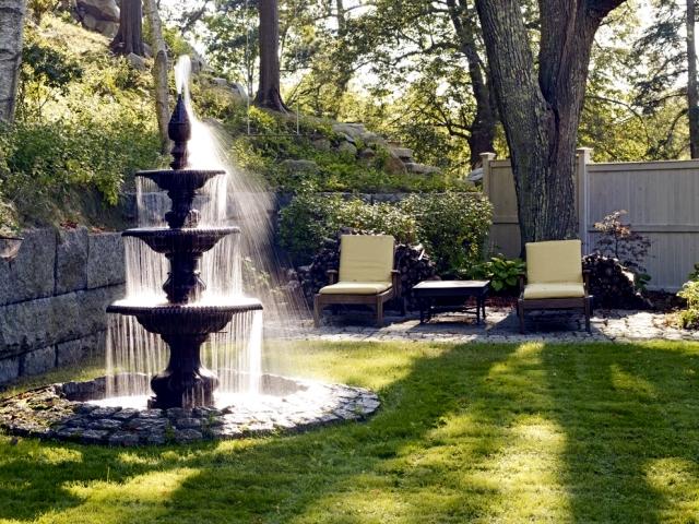 22 ideas for garden fountains as a creative design element in the