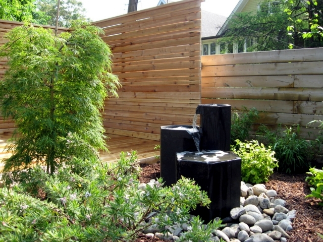 22 ideas for garden fountains as a creative design element in the garden