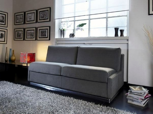 Practical design sofa offers seating and sleeping space
