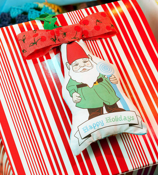 Fabric Handmade Christmas offers comfort