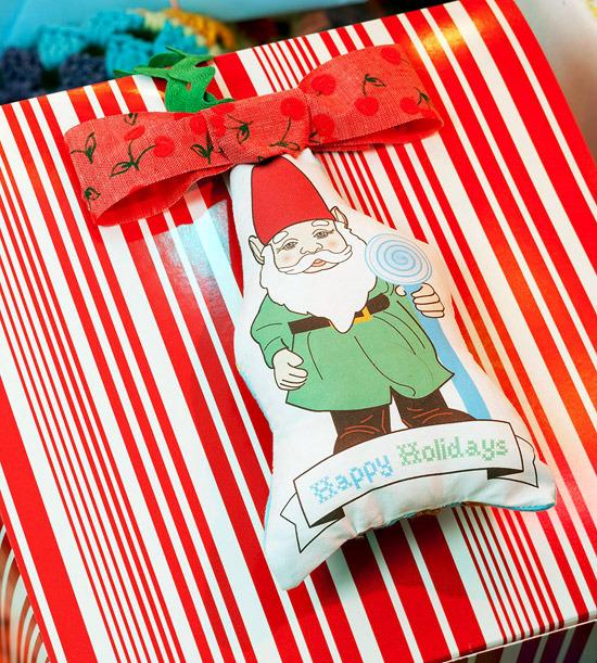 Fabric Handmade Christmas offers comfort
