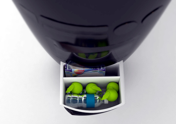 "Mini kitchen compact ""all in one"" concept for small spaces"