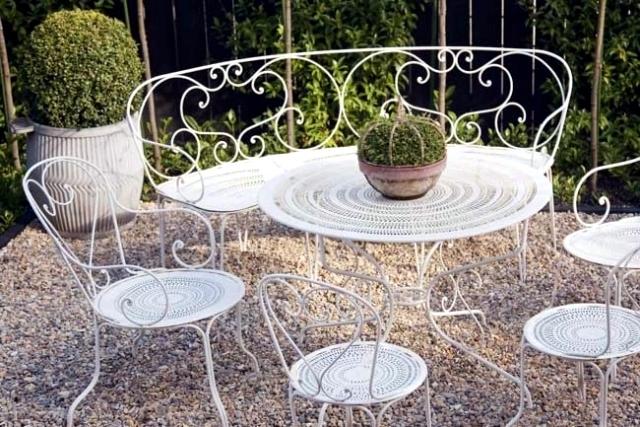 21 Wrought Iron Garden Furniture, Used Rod Iron Outdoor Furniture