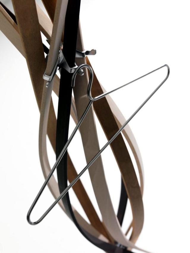 Designer clothes rack twist a dance beech flower - Designer clothes rack ...