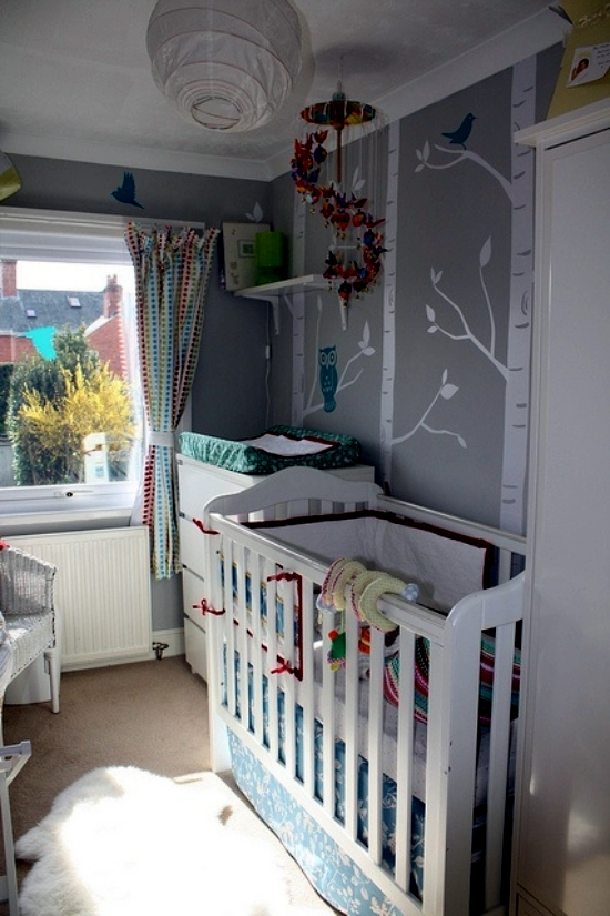 20 Creative Ideas Of How To Set Up A Small Nursery Interior Design