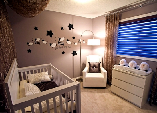 Miraculous 20 Creative Ideas Of How To Set Up A Small Nursery Interior Largest Home Design Picture Inspirations Pitcheantrous