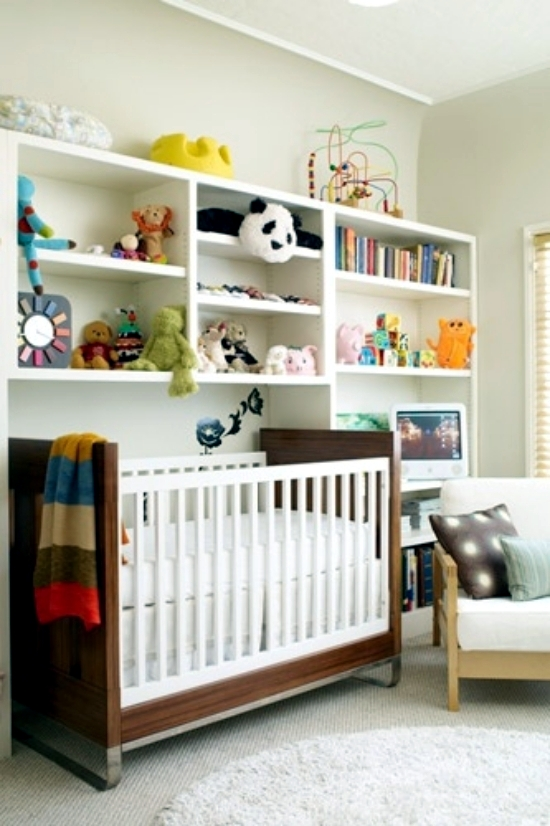 Groovy 20 Creative Ideas Of How To Set Up A Small Nursery Interior Largest Home Design Picture Inspirations Pitcheantrous