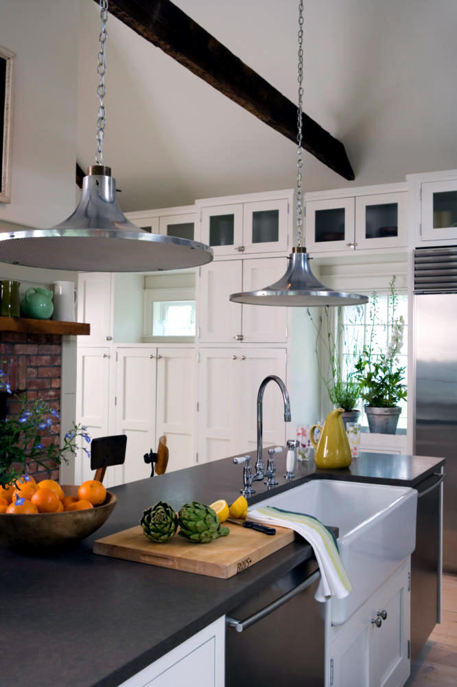Stainless steel pendant lights for kitchen photo page hgtv photo page hgtv 15 distinct - Stainless steel kitchen pendant lighting ...