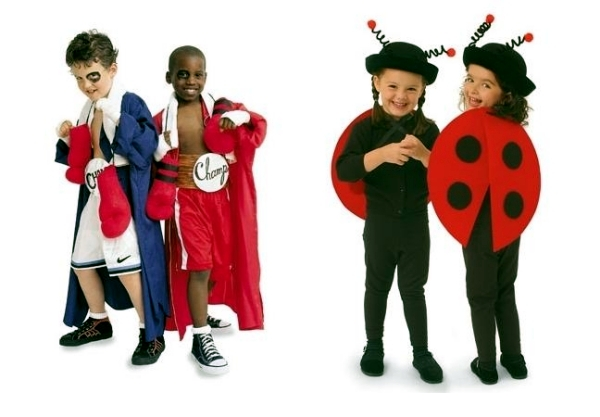 Costume and makeup at the last minute - Ideas for Family