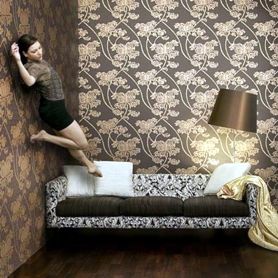 The wallpapers are eye-catching design elements for walls, but can also be  used as decorative elements. Dutch designer Marcel Wanders has unveiled its  ...