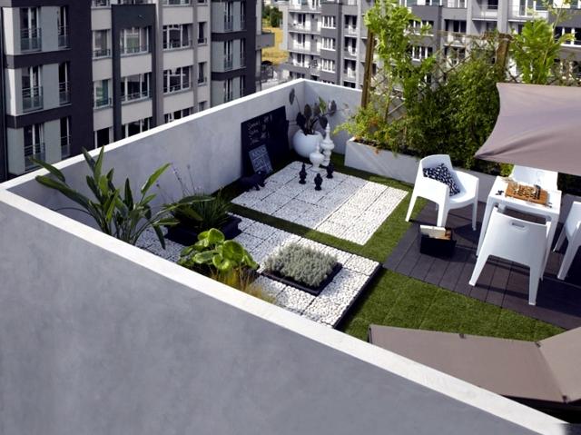 20 original ideas and fresh design for balcony and roof ...