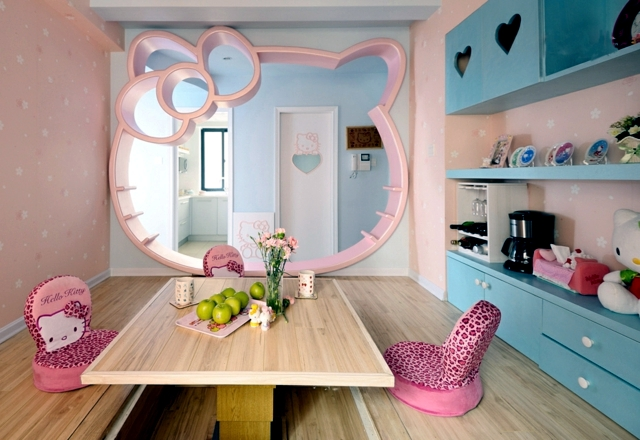 Nursery for girls - 100 colors and design ideas