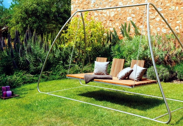 18 Modern Garden Swing Designs For The Garden And Terrace